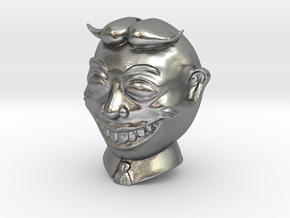 Tillie Asbury Park Spherical Bead 14mm in Natural Silver