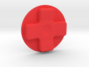 Dpad in Red Processed Versatile Plastic