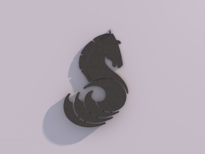 Seahorse by Martinus in Polished Silver