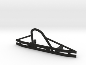 SCX-10 Tube Bumper (6.5in) in Black Natural Versatile Plastic
