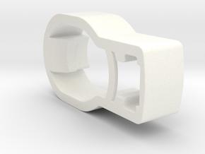 Rear Wheel Button / Clip for Bugaboo Buffalo / Don in White Strong & Flexible Polished