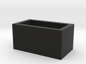 Speaker Box Closed in Black Strong & Flexible