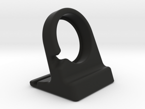 Compact Apple Watch Stand in Black Strong & Flexible