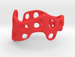 s3r028s9 GenusReticulum  in Red Processed Versatile Plastic