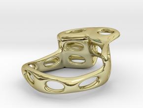 s4r021s8 GenusReticulum in 18k Gold Plated Brass