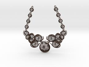 Aquar Necklace in Polished Bronze Steel