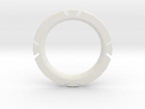 Phantom3 / Inspire 1 - Yaw control ring in White Natural Versatile Plastic