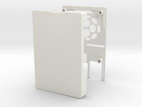 Raspberry Pi 2 / B+ Case in White Natural Versatile Plastic