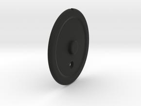 P51 early Elevator Trim Wheel in Black Natural Versatile Plastic