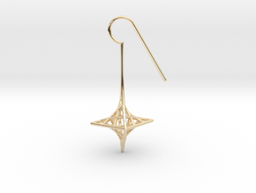 star_quad (small) in 14K Yellow Gold