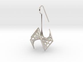 spiderRose (small) in Platinum