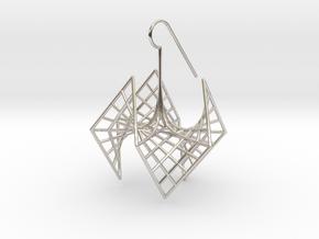 spiderRose (medium) in Platinum