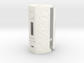 DNA200 Premium Case in White Strong & Flexible Polished