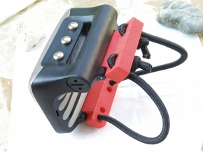 Uwatec Galileo Bungee Adapter in Red Processed Versatile Plastic