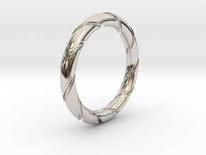 Bernd - Ring in Rhodium Plated: 7.25 / 54.625