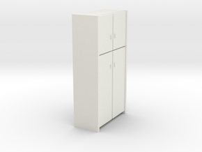 A 008 - 1 Schrank Cabinet 1:50 in White Strong & Flexible