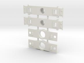 DIR OAtOP48 Andrews Conversion Bolster in White Natural Versatile Plastic