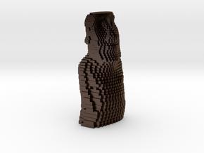 Easter Island gradient in Polished Bronze Steel