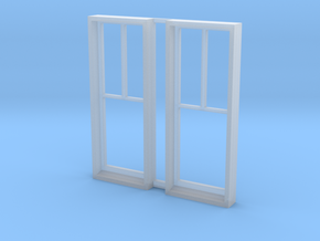 2 Over 1 Window Two Of Them in Smooth Fine Detail Plastic
