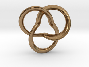 clover Knot in Natural Brass
