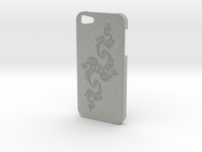 Julia Set Fractal - Iphone 5 Case in Metallic Plastic