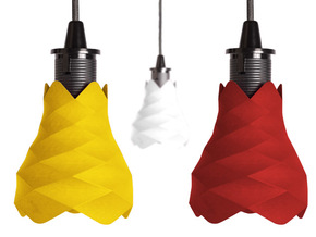 Flores de pin - Lamp in Yellow Strong & Flexible Polished