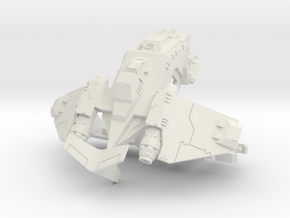 6mm Stormchicken Dropship in White Strong & Flexible