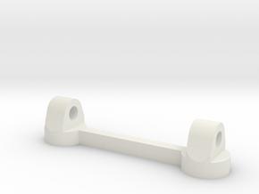 Badge Baby pin adaptor in White Natural Versatile Plastic