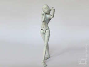 ALTER EGO 1/12 scale doll kit in White Natural Versatile Plastic