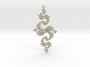 Julia Pendant 1 XLP in 14k White Gold