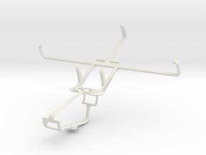 Controller mount for Xbox One & PS Vita Slim (PCH- in White Natural Versatile Plastic