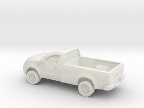 1/87 2015 Toyota Hilux Single Cab in White Natural Versatile Plastic