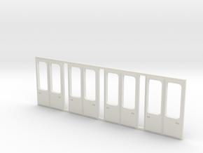 Tatra KT4D Türen modernisiert in White Natural Versatile Plastic
