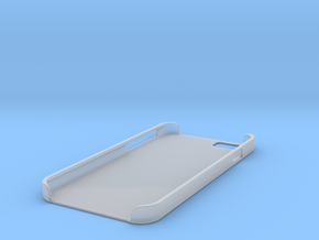 Iphone 6 Case Flat in Smooth Fine Detail Plastic