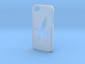 Iphone 5/5s pegasus case in Smooth Fine Detail Plastic