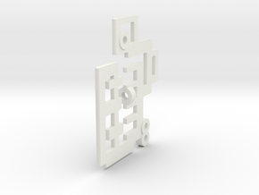 Bone House: Acetoo in White Natural Versatile Plastic