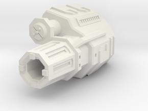 "Somtaaw ""Explorer"" Siege Cannon in White Natural Versatile Plastic"