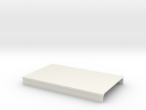 N Scale Platform Piece 100x60  in White Natural Versatile Plastic
