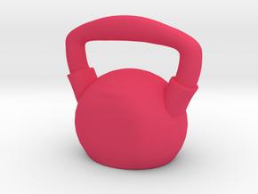 Kettlebell  - Made of Steel in Pink Processed Versatile Plastic