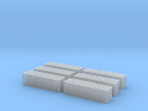 1/450 Container 30ftx6 in Smooth Fine Detail Plastic