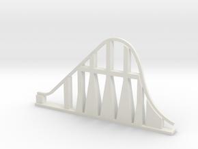 Millennium Force Roller Coaster in White Natural Versatile Plastic