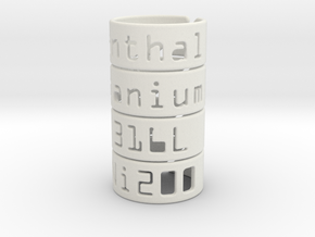 Elastic Rings for Atomizer in White Natural Versatile Plastic