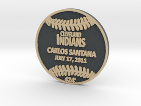 Carlos Santana in Full Color Sandstone
