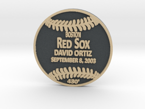 David Ortiz in Full Color Sandstone