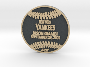 Jason Giambi in Full Color Sandstone