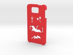 Samsung Galaxy Alpha Minoan case  in Red Processed Versatile Plastic