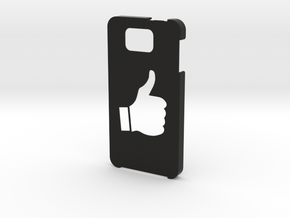 Samsung Galaxy Alpha Thumbs up case  in Black Natural Versatile Plastic