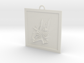 FishPane in White Natural Versatile Plastic
