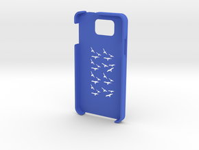 Samsung Galaxy Alpha Birds case in Blue Processed Versatile Plastic