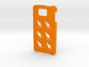 Samsung Galaxy Alpha Kangaroos case in Orange Processed Versatile Plastic